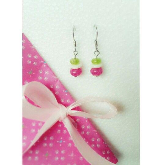 Tiny Earring // Stone Earring // Anting Handmade // Tiny Jewel