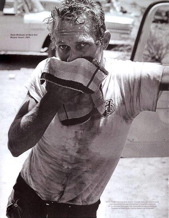 Steve McQueen, fatigué et en sueur, heureux et chagriné