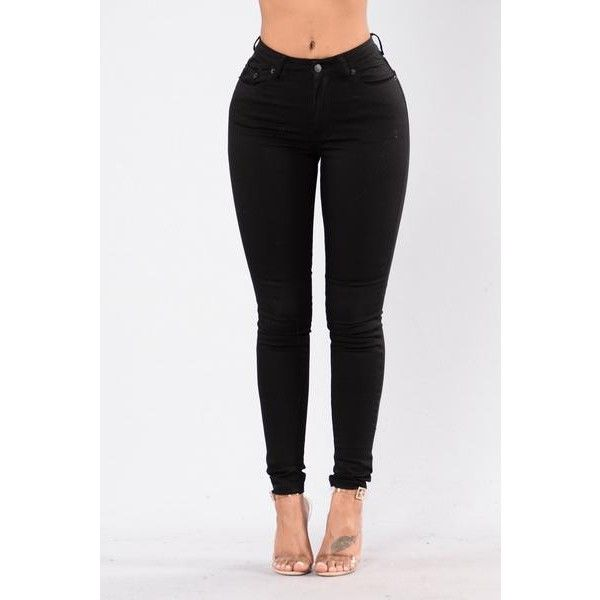 Rock Me Roll Me Jeans Black ($25) ❤ liked on Polyvore featuring jeans, rolled up jeans, rock jeans, rock-revival skinny jeans, rolled up skinny jeans and rock roll jeans