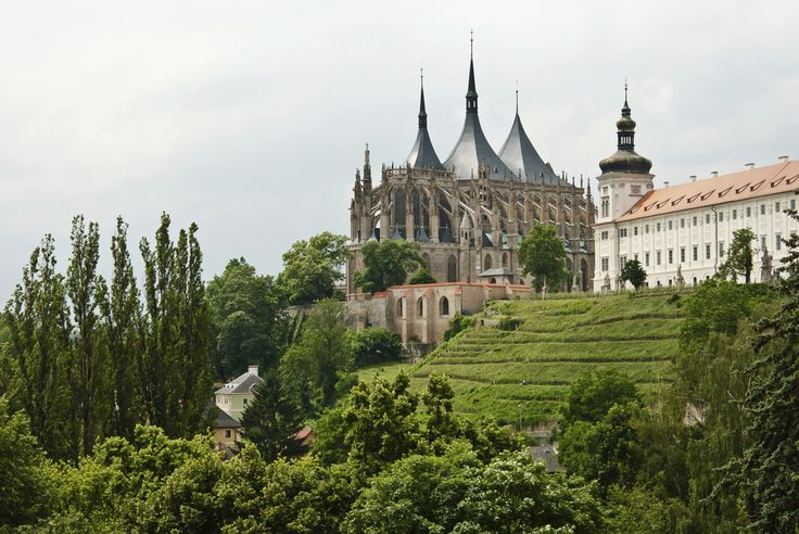 East of Prague, you'll find Kutna Hora, a small town where you can explore old mines and visit castles. | 27 Pictures That Prove The Czech Republic Will Be The Most Beautiful Place You Ever Visit