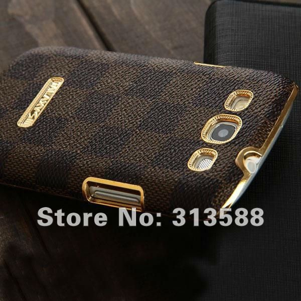 wholesale Black Brown Gold Luxury Grid Leather Case For Samsung I9300 Galaxy S3 on AliExpress.com. $7.99