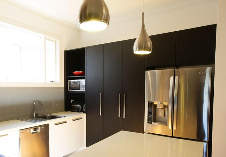 Elegant pendant light in a kitchen renovation