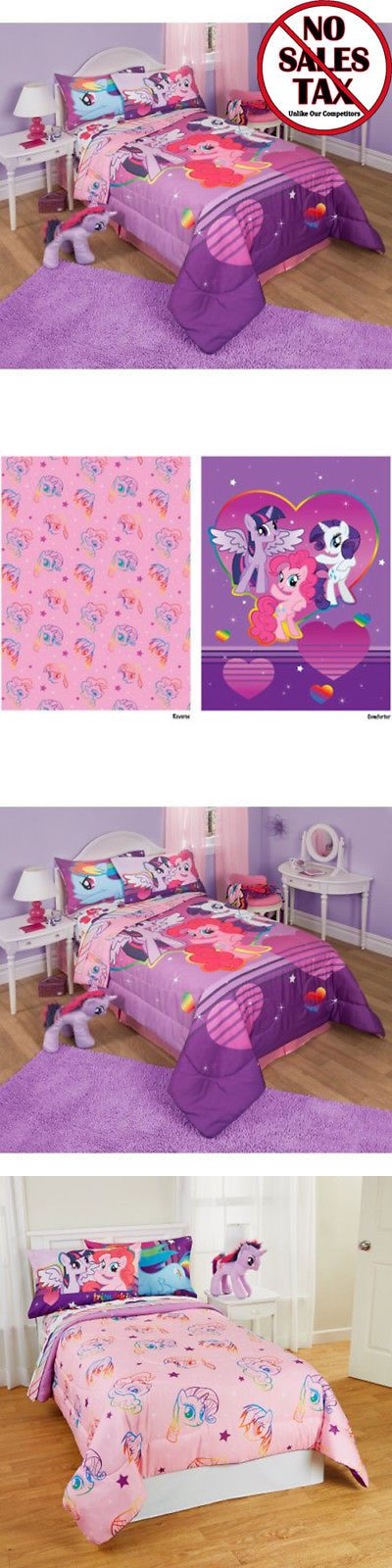 Kids Bedding: My Little Pony Twin Full Bed Comforter And Sheet Set Girls Bedding New -> BUY IT NOW ONLY: $47.99 on eBay!