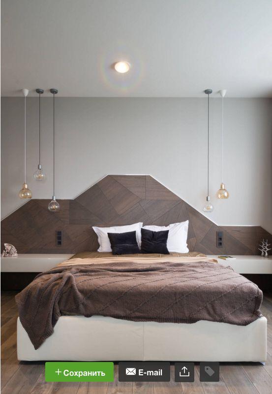 Изголовье кровати / Bed headboard / wood
