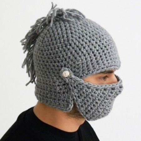 Crochet Knight Helmet : Crochet Knight Helmet Hat $39.00 vbs Pinterest