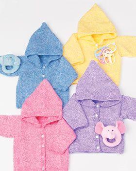 Simple Baby Hoodies - free pattern