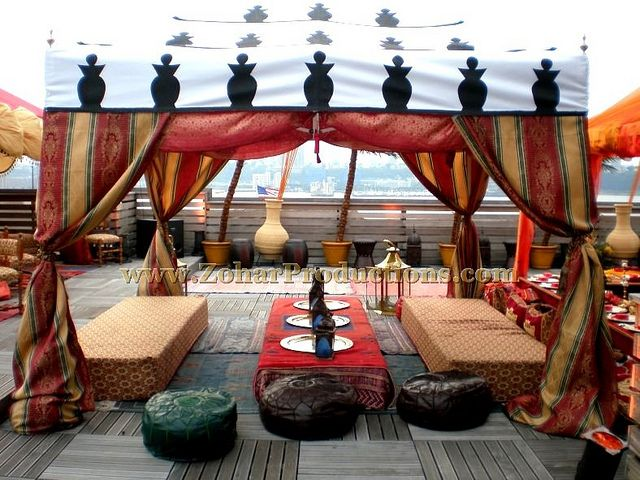Egyptian Themed Party Moroccan Tented Lounge Flickr