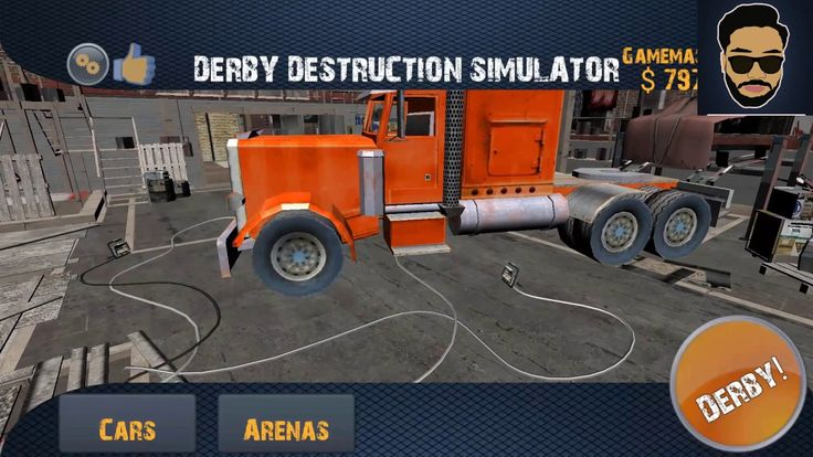 Derby Destruction Simulator (1080p) Android/İos Gameplay HD