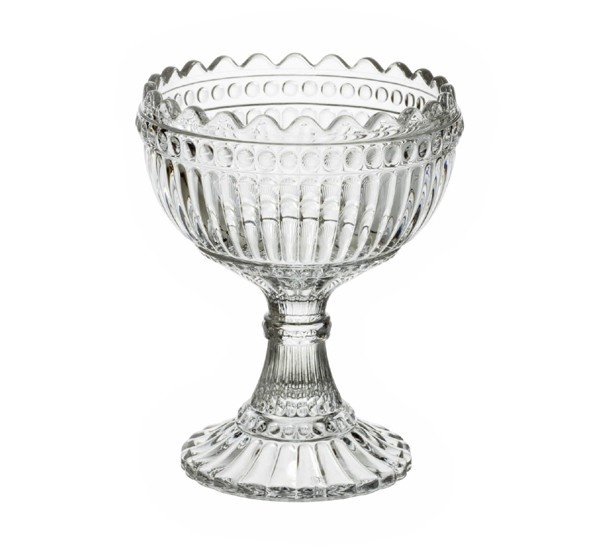 Mari 12cm glass bowl by iittala.    Now a timeless classic, the celebrated Mari bowl remains popular from year to year. Suitable for use both with food, or as a decorative item to brighten your home and enliven any table setting.