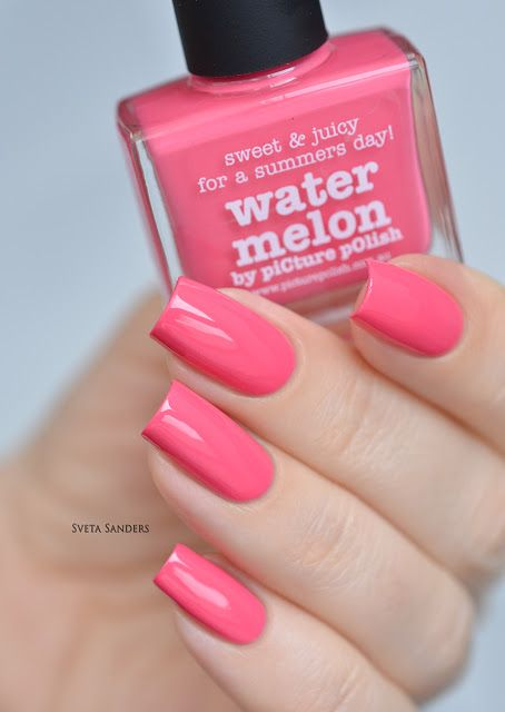 piCture pOlish Water Melon