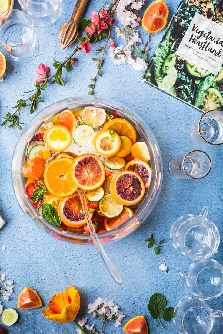 I've always loved the classic Pimm's Cup cocktail so this easy recipe for Pimm's Punch with gin is so beyond perfect! Can't wait to make this for a big crowd at our next party!