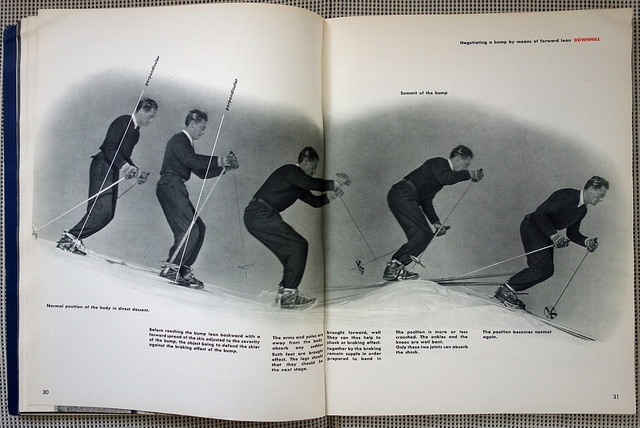 French Method: How to Ski - Emile Allais' Technic - 7 by Michael Stoll, via Flickr