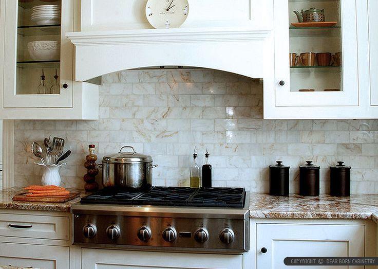 Onyx Tiles For Counters : White onyx subway kitchen backsplash cabinet gold