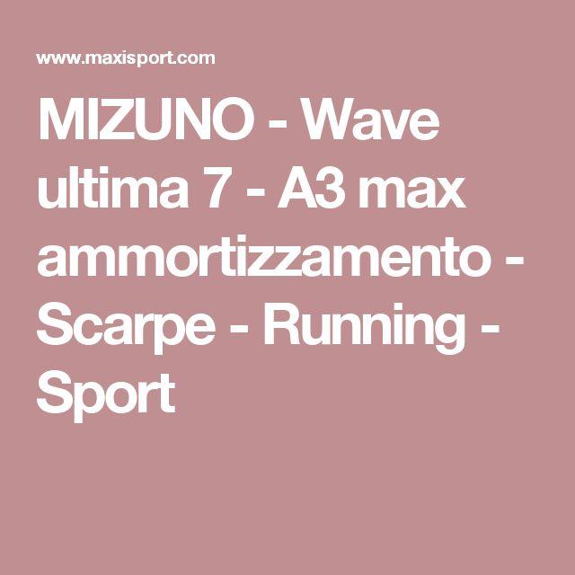 MIZUNO - Wave ultima 7 - A3 max ammortizzamento - Scarpe - Running - Sport