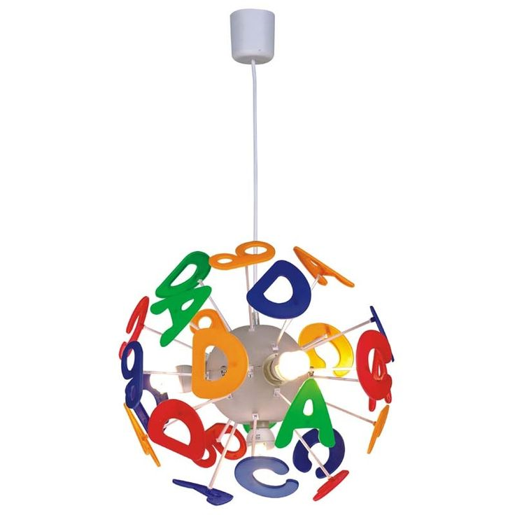 This light would be perfect fit a circus themed nursery. #SocialCircus