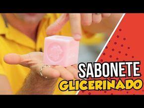 Sabonete Glicerinado muio fácil de ser feito, confira nossa receita em vídeo do grande mestre Peter Paiva, dando altas dicas para ter sucesso no sabonete.