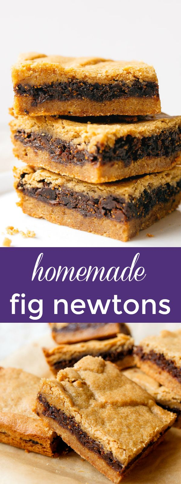 Homemade fig newtons | Posted By: DebbieNet.com