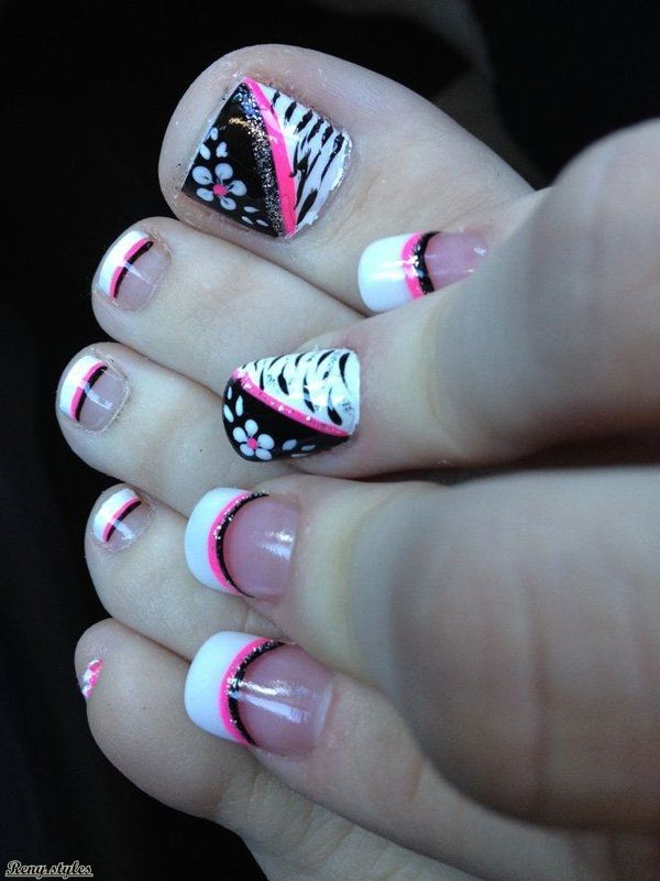 Toe nail Designs You Gotta Love It - Reny styles