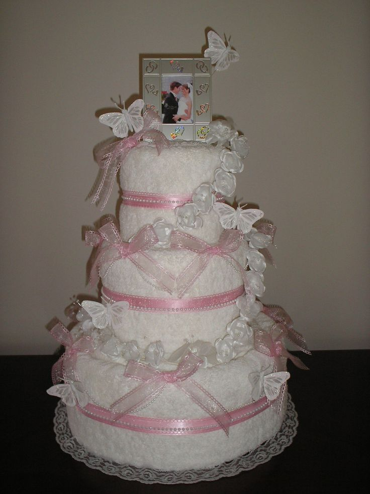 Towel Wedding Cakes Directions