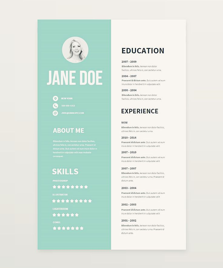 Clear and pretty resume templates we've made to boost your career. Fell free to use them for your purposesAll the templates wac created with Createer WYSIWYG editor. You can edit them online at createer.com (no coding experience required) and easily exp…