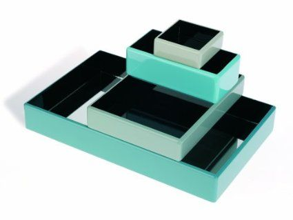 Living Etc Sliding Drawers Green/Blue
