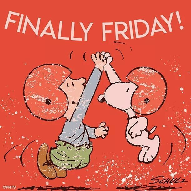 Friday is here!