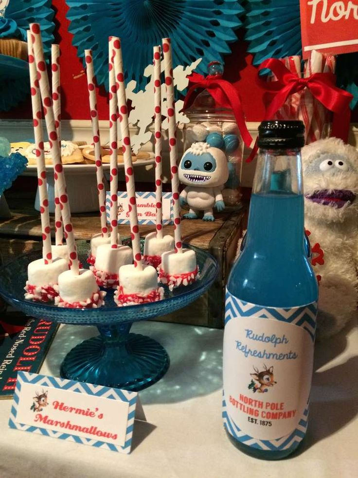 Rudolph The Red Nosed Reindeer Christmas/Holiday Party Ideas | Photo 4 of 27