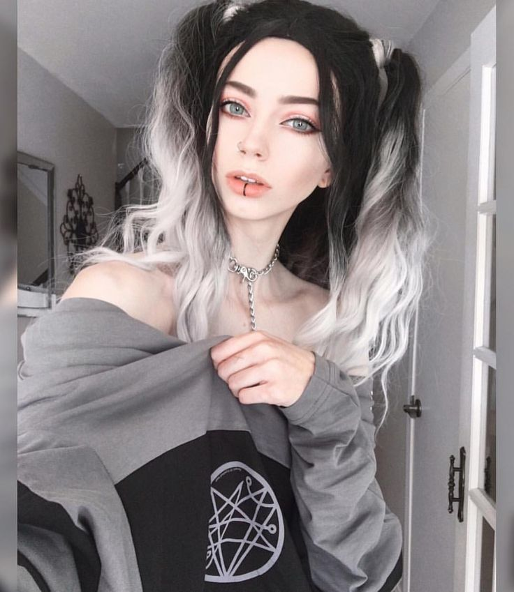Outstanding The 25 Best Ideas About White Ombre Hair On Pinterest Grey Hairstyle Inspiration Daily Dogsangcom