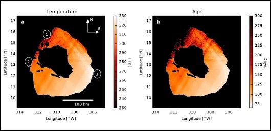 Waves of Lava Seen in Io's Largest Volcanic Crater Taking advantage of a rare orbital alignment between two of Jupiter's moons, Io and Europa, researche... - Tomasz Nowakowski (Astro Watch) - Google+