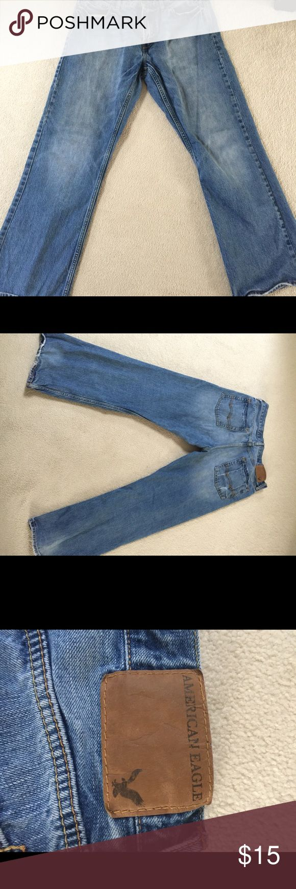 Men's American Eagle Jeans American Eagle Bootcut Men's Jeans 33x32 in great shape only worn a handful of times American Eagle Outfitters Jeans Bootcut
