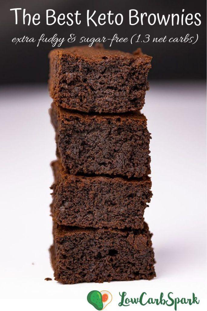 The Best Fudgy Keto Brownies Recipe Keto Brownies Keto