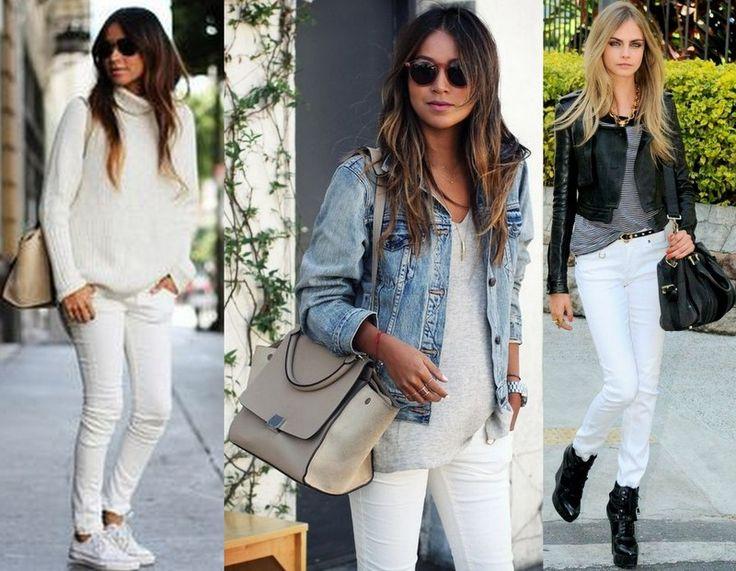 Pantalones blancos en invierno ¿Por qué no?