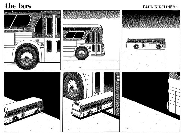 the bus, by Paul Kirchner