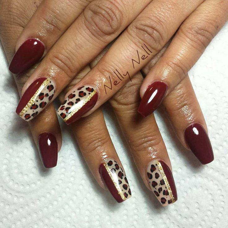50 Ideas para tener las uñas decoradas animal print | Decoración de Uñas - Manicura y Nail Art