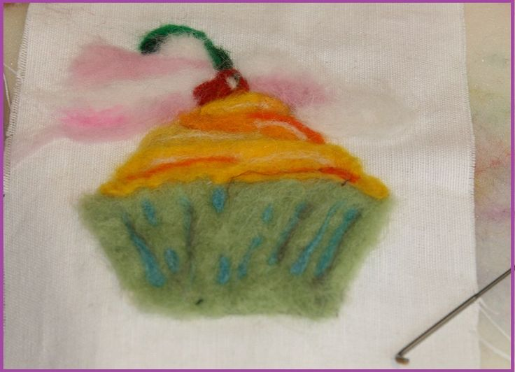 Needle felt your own design or choose from one of ours..