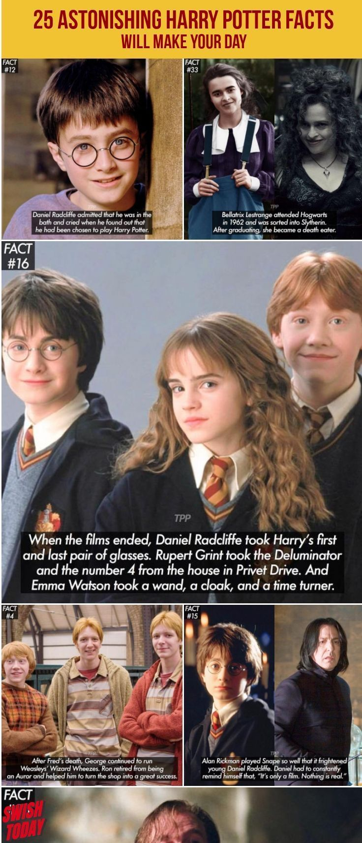 25 Astonishing Harry Potter Facts Will Make Your Day Facts Harry Potter Potter Facts Unexpected Fun Facts Om Harry Potter Facts Potter Facts Harry Potter