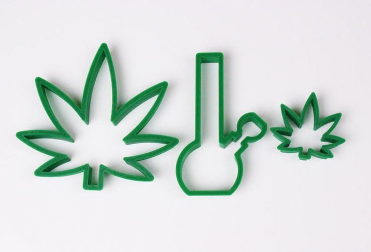 stoner gift cookie cutters