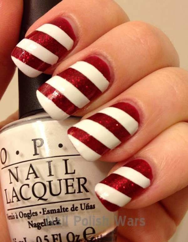 198 best christmas nail art designs images on pinterest beauty 10 adorable christmas nail designs prinsesfo Choice Image