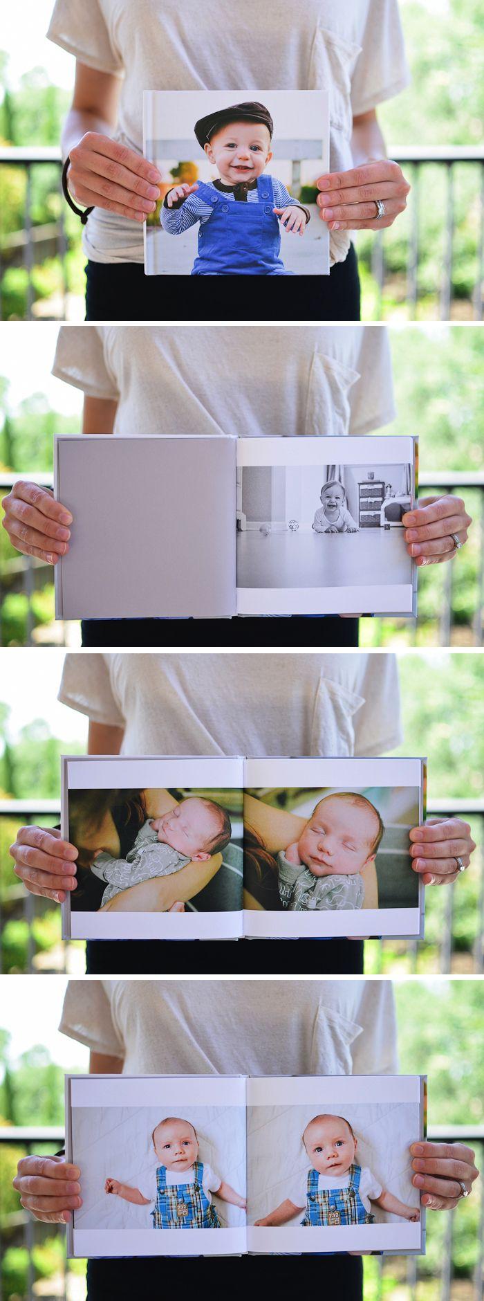 First year photo book! Love this idea.