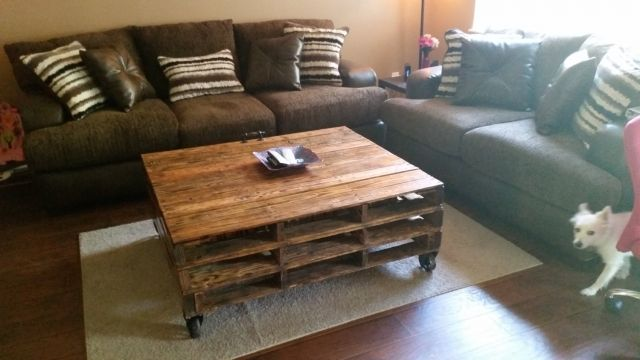 Wood Pallet Coffee Table Picture Popular Items For Pallet Coffee Table On Etsy