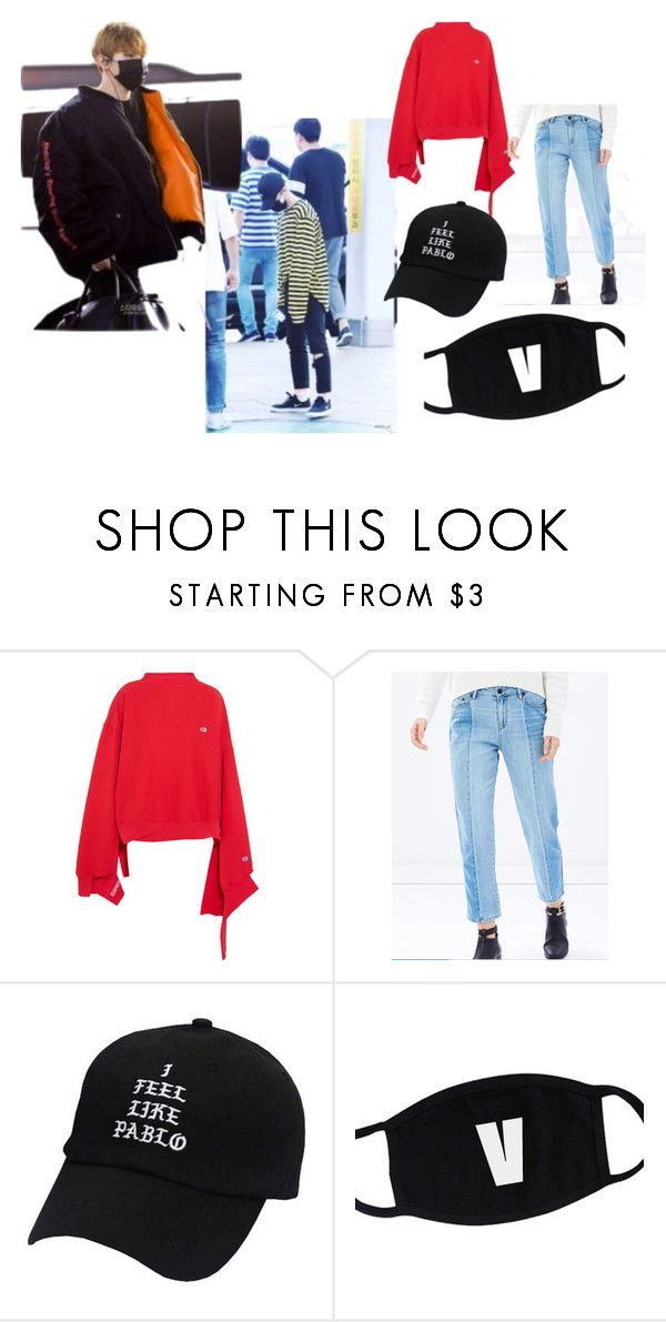 """Seventeen Woozi's Fashion"" by mandalinaqitrydewi on Polyvore featuring Vetements and The Fifth Label"