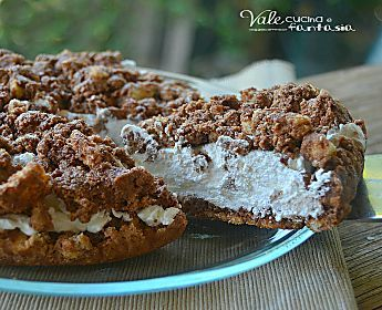 Sbriciolata fredda con panna e nutella ricetta facile e veloce