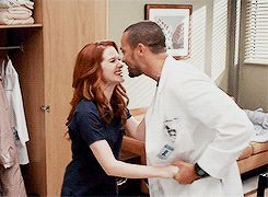 Japril April and Jackson Avery