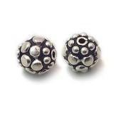 Sterling Silver Bali Style Beads