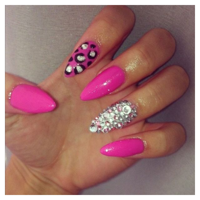 79 best nails images on pinterest acrylics cute nails and gel nails tumblr stiletto nail designspink prinsesfo Choice Image