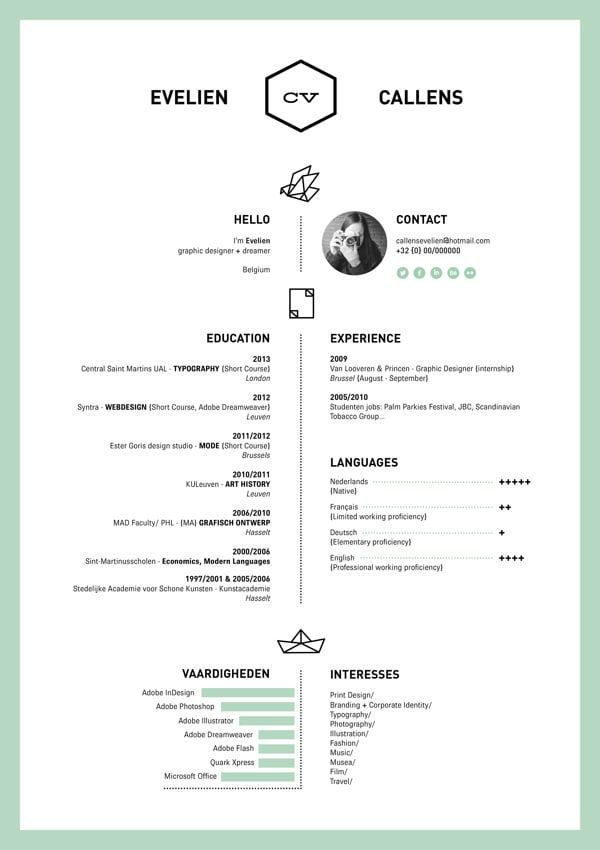 19 best Resume Design images on Pinterest Resume design, Resume - example of cook resume