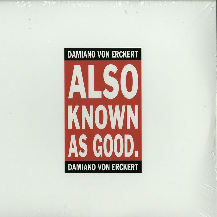 """Another big release from from my beloved andfresh house music labelAVAsituated in my town of residence – Cologne. """"Also Known As Good"""" is a second album of thelabel runner Damiano von Erckert,..."""