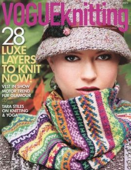 VOGUE KNITTING - WINTER 2013/2014~ GREAT KNITTING MAGAZINE !!