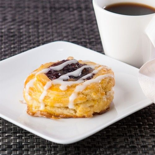 Berry good Danish Pastry, gluten-free. For cold snowy mornings when you actually have electricity and coffee.