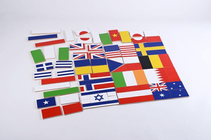 Vlajky, nový slovenský dizajn hračiek Hravo